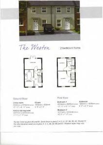 Floor plans - The Weston