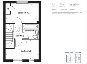 Appleford first floor Plan